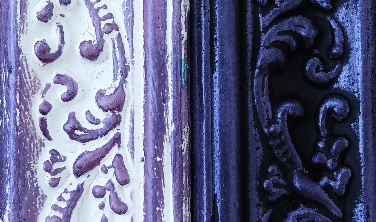 Восковая краска-паста Purple pearl, 10 мл, ScrapEgo