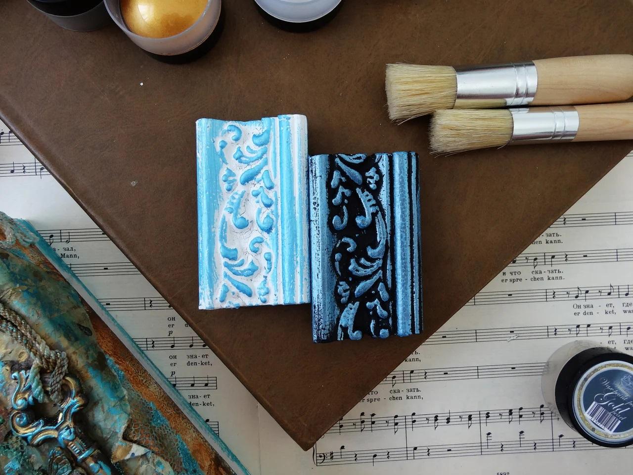 Восковая краска-паста Blue pearl, 10 мл, ScrapEgo