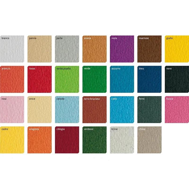 Бумага для пастели Tiziano A4 (21 * 29,7см), №21 arancio, 160г / м2, оранжевый, среднее зерно, Fabriano